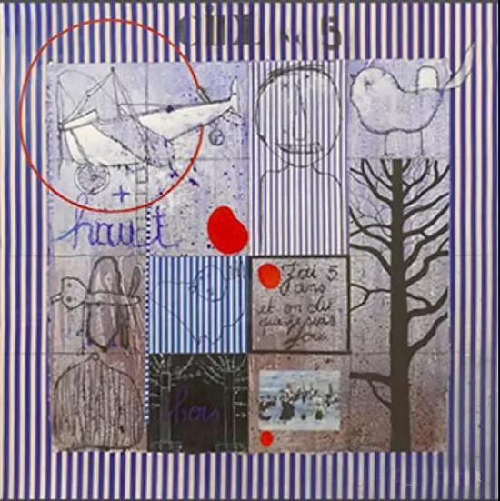 比利时画家西尔万的作品 1989年作