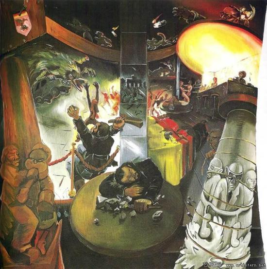 伊门多夫《德国咖啡馆-3》1978