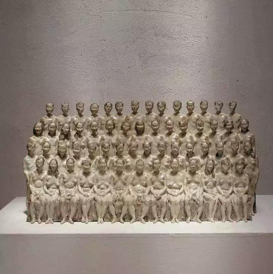 肖敏 姿态研究II 雕塑