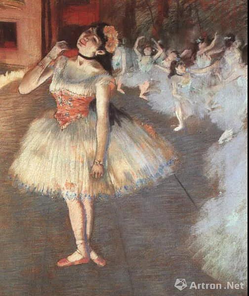 ▲《芭蕾舞女》