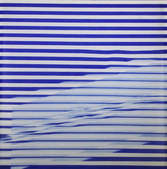 """何郭萌《《SP-8》》140×140cm绢本设色-2018(""""青艺?起点""""板块)"""