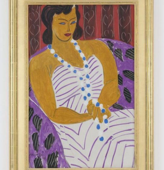 Henri Matisse,Woman in white,1946 2017