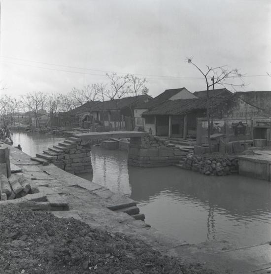 1980年,《乡景》,浙江绍兴