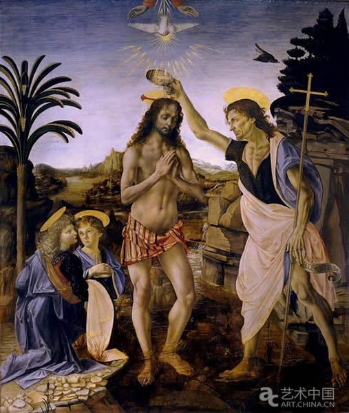 《基督受洗》