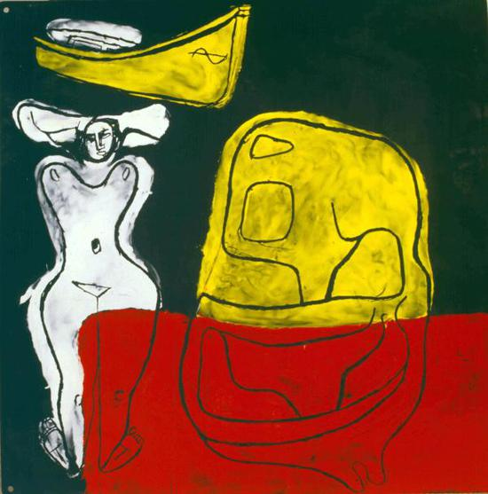 珐琅板,1965年