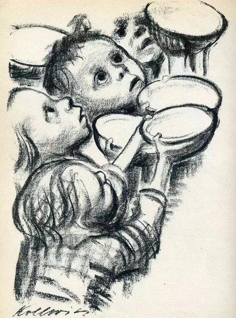 《德国儿童在饥饿中》