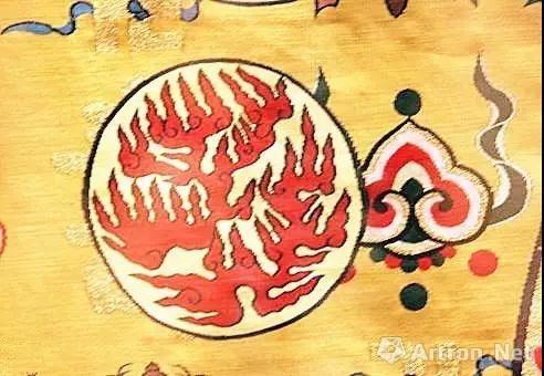 火,取其光明,象征帝王光明磊落。