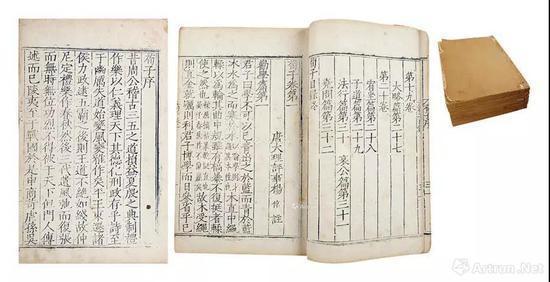 明嘉靖十二年(1533)顾氏世德堂刊本,白棉纸