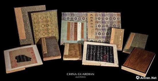 安思远藏善本碑帖十一种 1.926亿元 世界最贵善本纪录中国嘉德拍卖