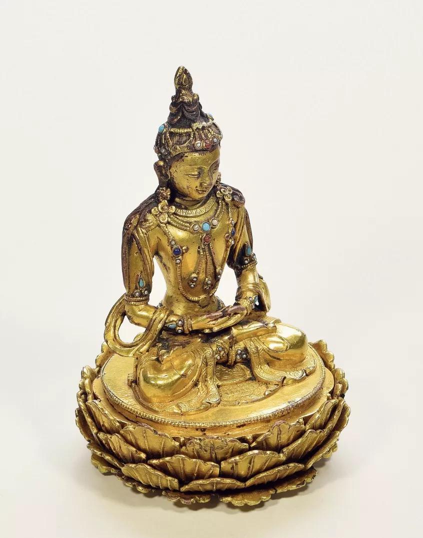 清代藏传佛教造像精品