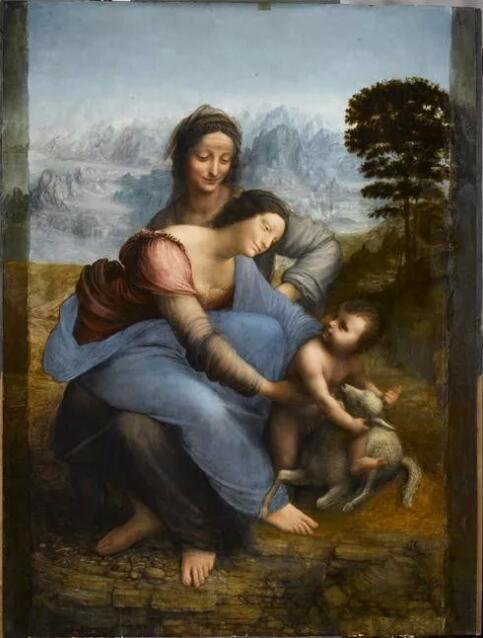 《圣母,圣子,圣安娜》(La Vierge, l'Enfant Jésus et sainte Anne)