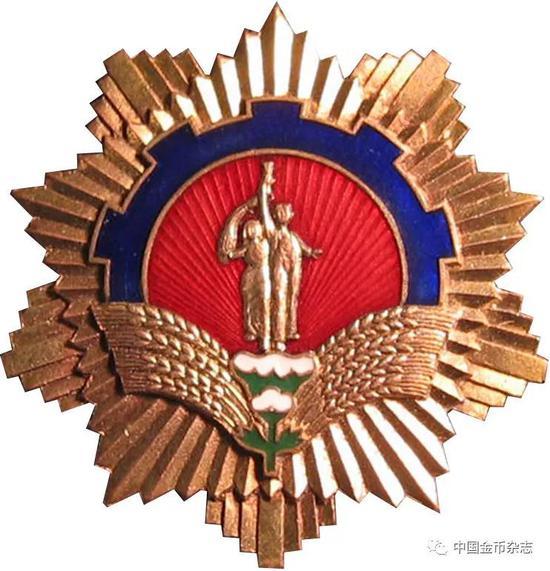 1958年蚌埠市社会主义建设积极分子代表大会纪念章