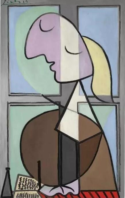 巴布罗·毕加索(Pablo Picasso)《写信的女人》,1932年作已售34,291,228美元