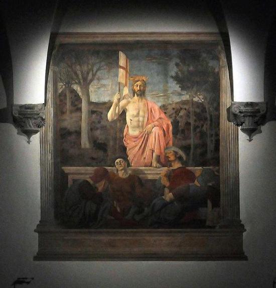 皮耶罗·德拉·弗朗西斯卡 《复活》(1460)