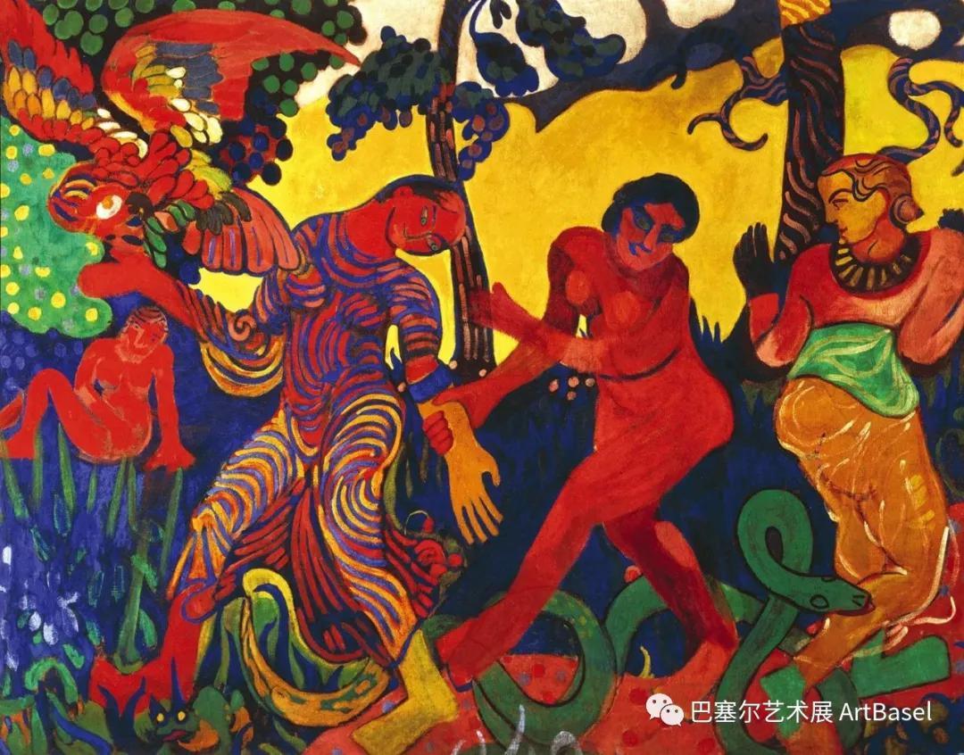 《The Dance》(1906),安德烈·德兰,图片由Fridart基金会提供