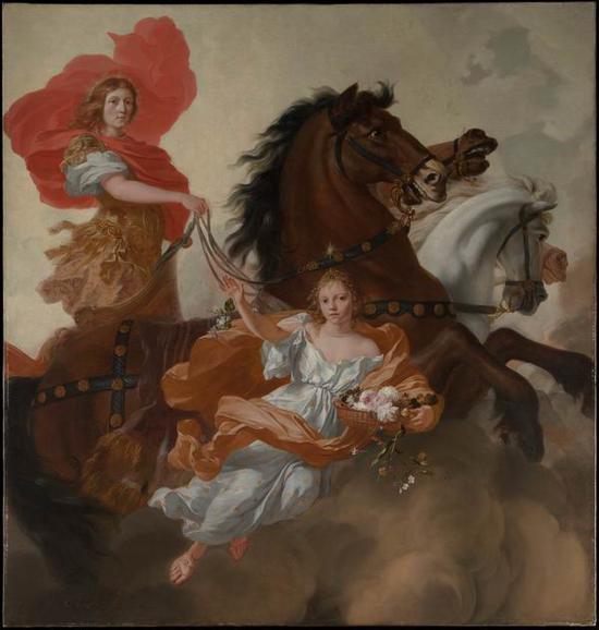 杰拉德·德·莱雷西,《阿波罗与奥莱拉》,1671年