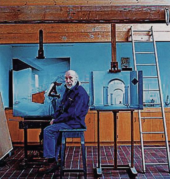 英国著名当代艺术家理查德.汉密尔顿
