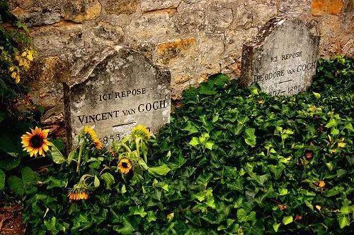 梵高与提奥的墓地