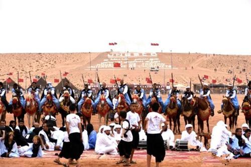 第14届摩洛哥坦坦非遗艺术节现场