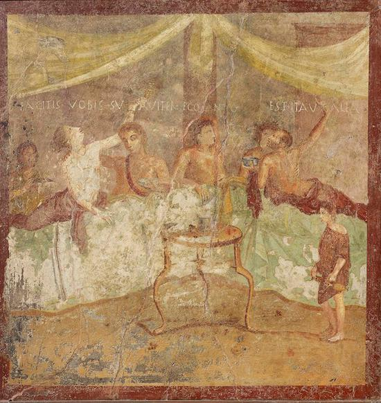 两千年前庞贝的最后晚餐是什么样子的