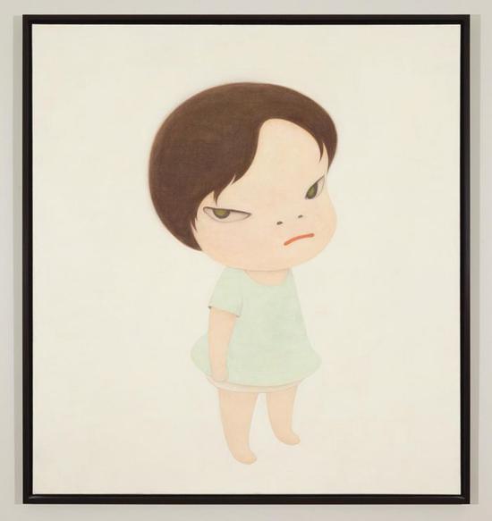 奈良美智 《最后的战士 / 无名士兵》,2000,港元成交价 :21,680,000 港元