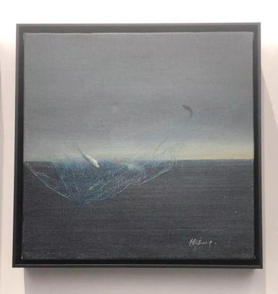 耿德法 油画 25x25cm 售价:5000元