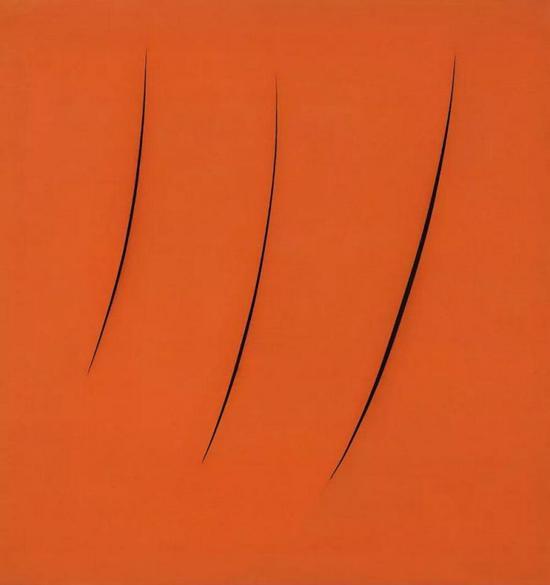 《空间概念,期望》,Lucio Fontana,1959年