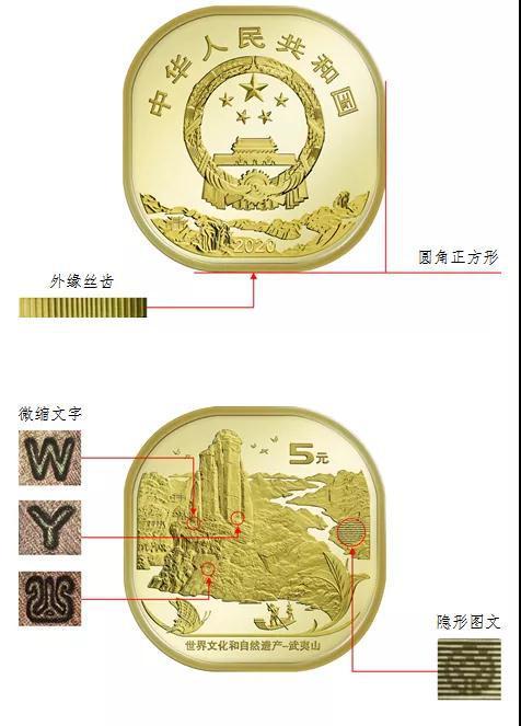 发行量1.2亿枚 武夷山币12月21日发行