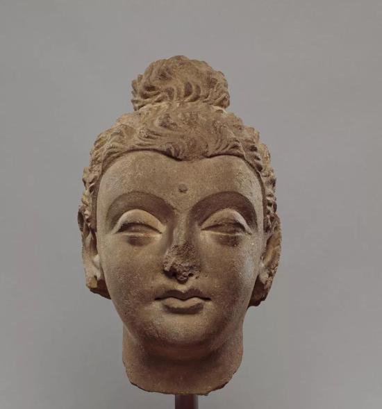 佛头,美国大都会艺术博物馆藏