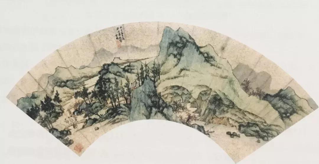 ▲明 丁云鹏 桃源图 上海博物馆藏