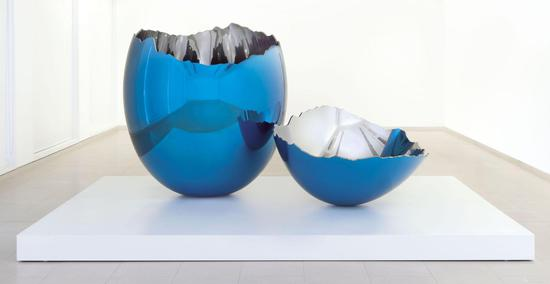 杰夫·昆斯《破碎的蛋壳》镜面不锈钢 2007 佳士得估价:1000-1500万英镑