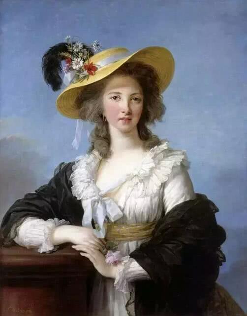 《伊利济公爵夫人的肖像》 1782年