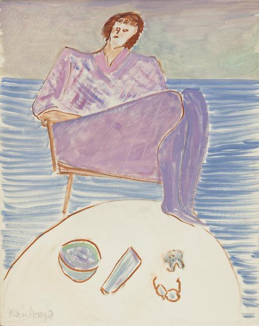 画家艾弗里:水彩般的质感 如记忆的碎片