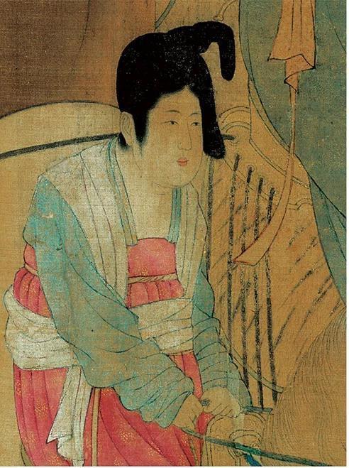 辽宁省博物馆展出中国古代经典绘画摹本