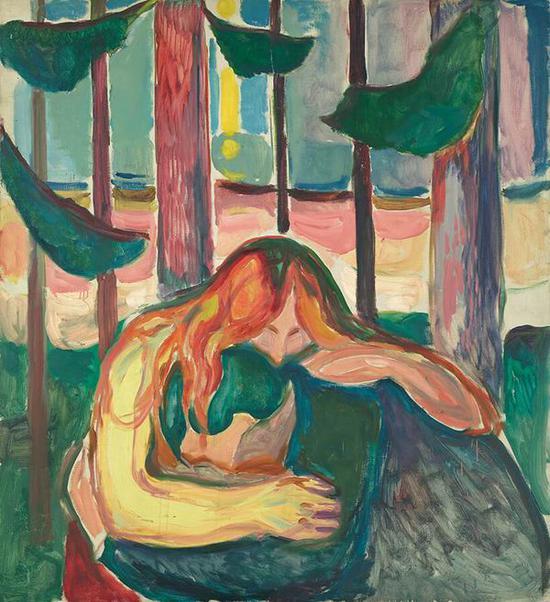 《吸血鬼》 1916-18年 油彩、油画 149.0×137.0cm
