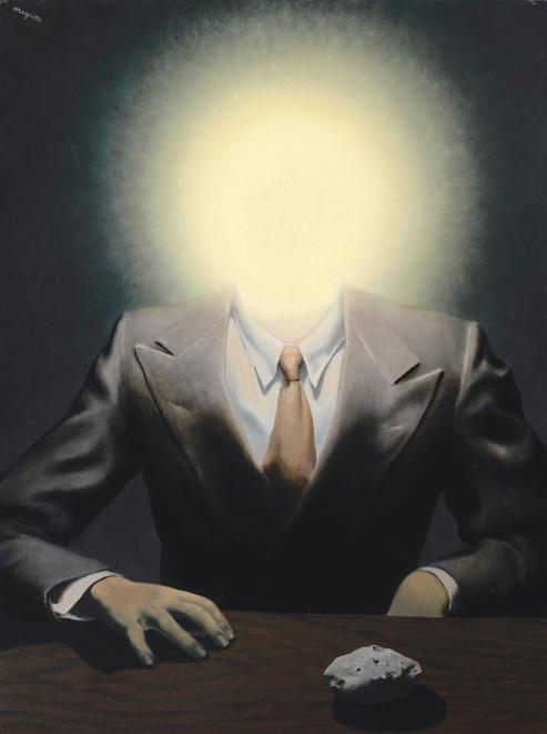 雷內?马格利特《快乐原则》油彩画布 73 x 54.5cm 1937年 成交价:2683万美元