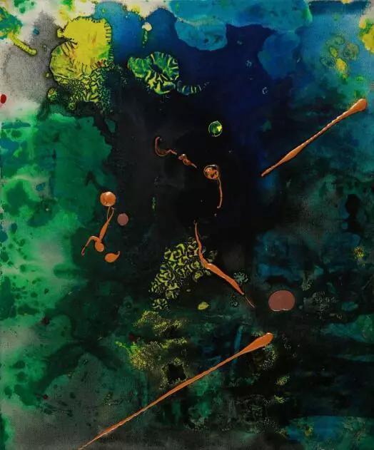 李磊 《破阵子-1》 布面丙烯 70cm×60cm 2011