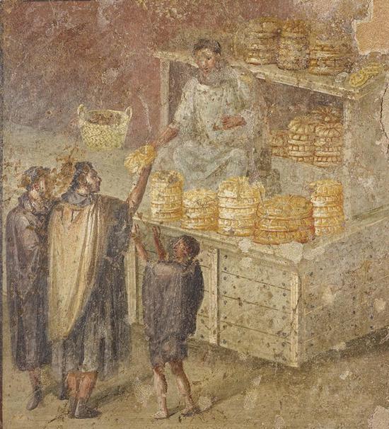 庞贝古城壁画