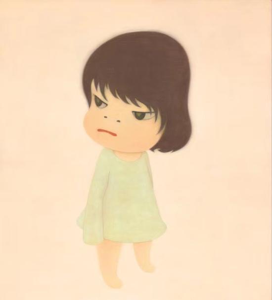 奈良美智《行踪不明》(2000年作)