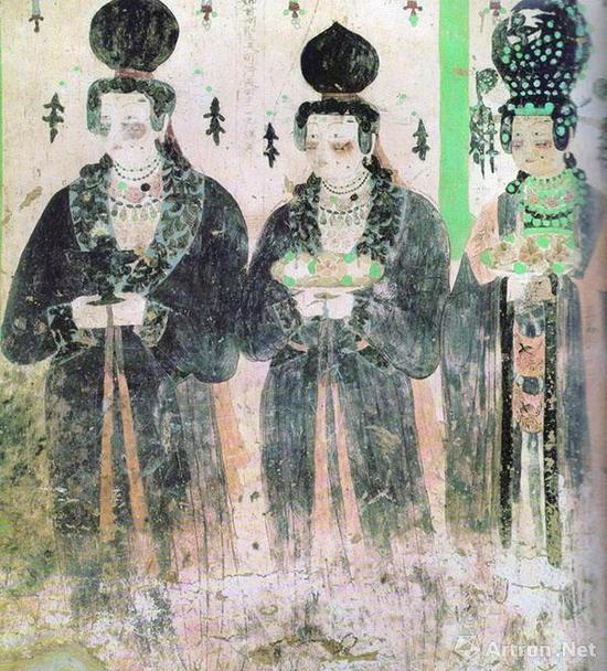 第61窟(五代)《回鹘公主供养像》