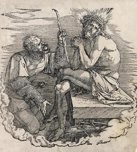 丢勒 耶稣与勇士 1496 —1510