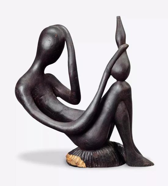 醉 J。马塔布威(坦桑尼亚) 2003年 38.5×15×34.5cm