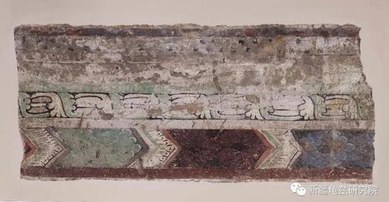 纹饰 克孜尔第67窟 现藏德国柏林亚洲艺术博物馆