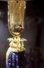 埃及艳后王冠中的紫色