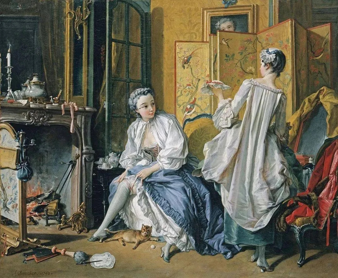 《化妆》:法国18世纪的中国风狂想