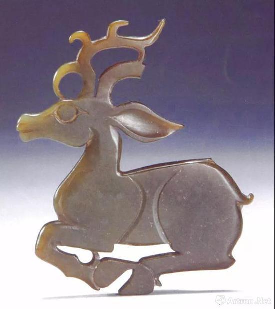三门峡虢国博物馆藏玉鹿