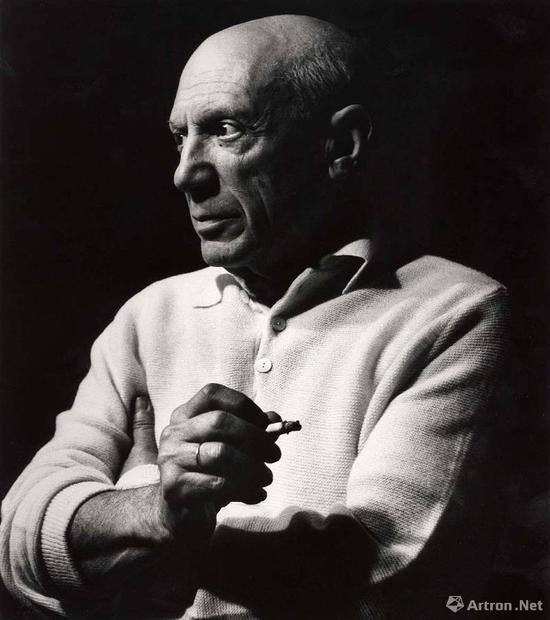 巴布罗·毕加索 吕西安?克雷格作品 1956年