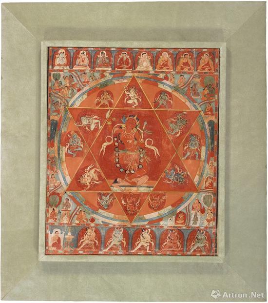 NO.46西藏 十三世纪 金刚亥母唐卡