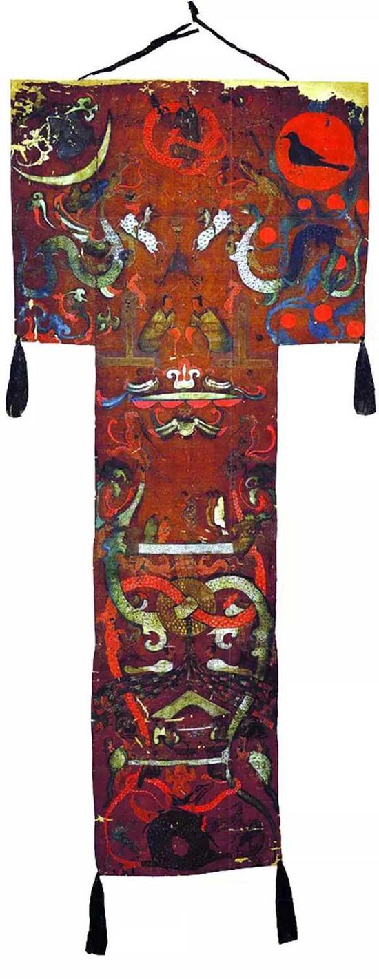 ▲马王堆帛画