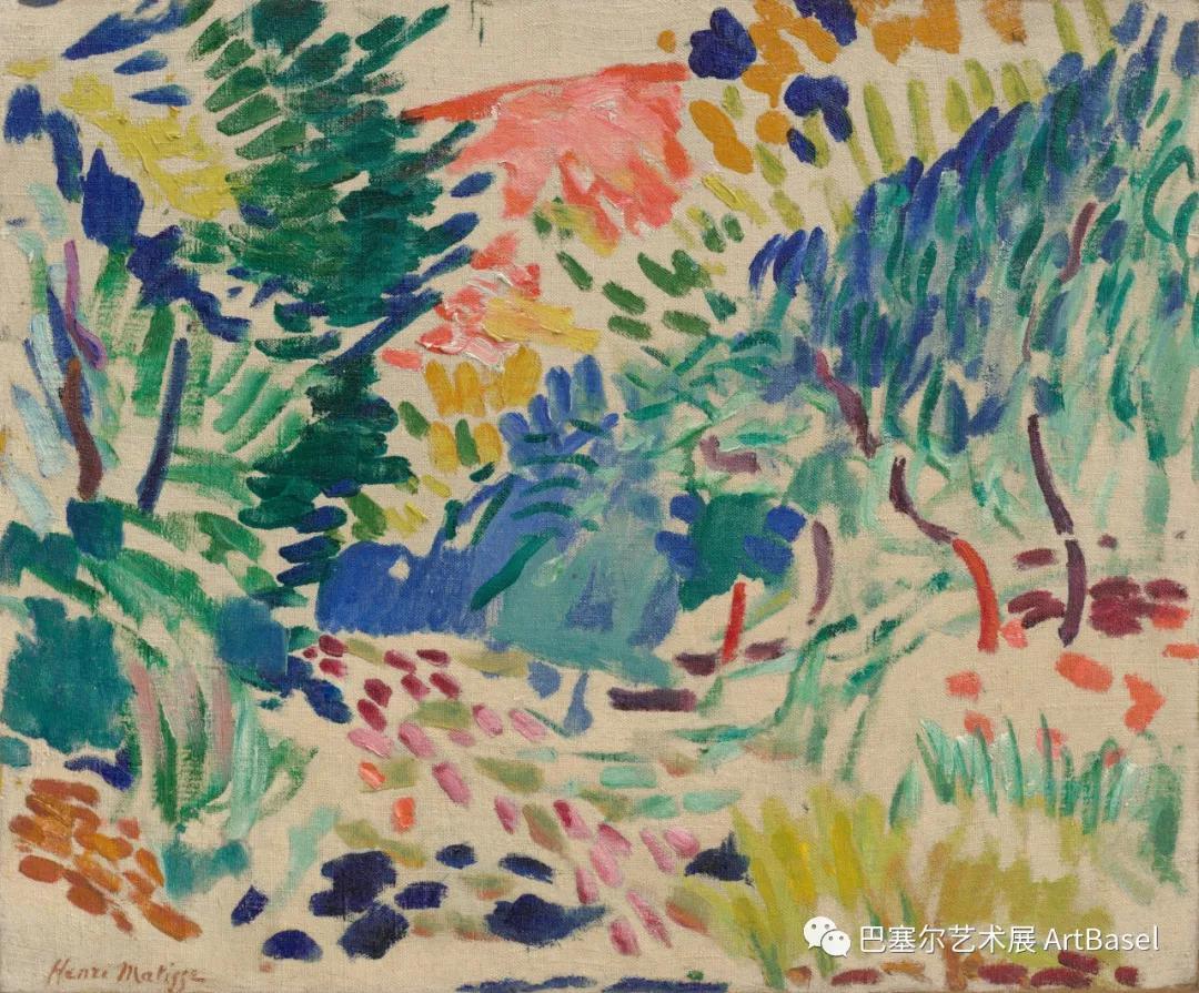 《Landscape at Collioure》(1905),亨利·马蒂斯,图片由纽约现代艺术博物馆提供